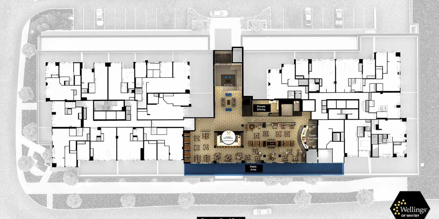 Wellings of Whitby Second Floor - Floor Plan