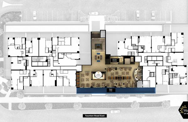 Wellings of Whitby Second Floor - Floor Plan